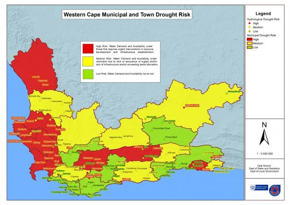 Drought Status across the WC