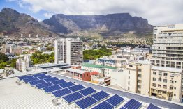 Rooftop solar PV at 9 Dorp St.