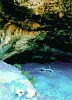 Hangklip cave