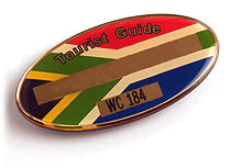 tourist guide badge