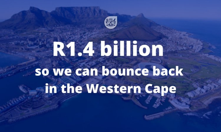 So we can bounce back in the western cape