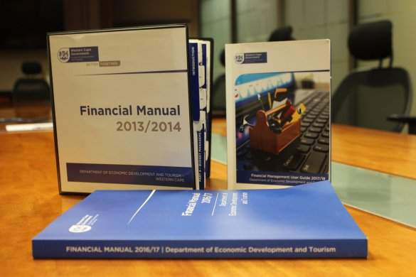 The simplification of the DEDAT financial manual over the years