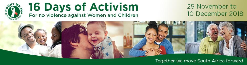 !6 Days of activism banner