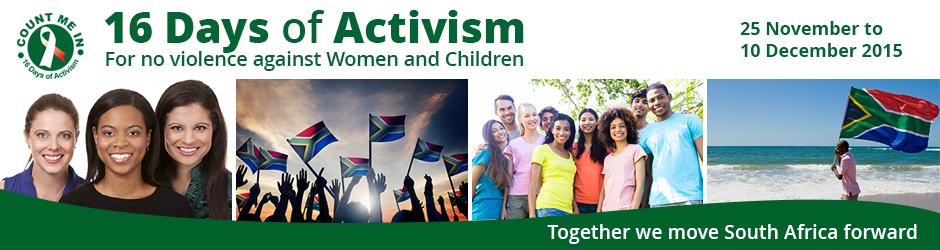 16 days of activism 2015