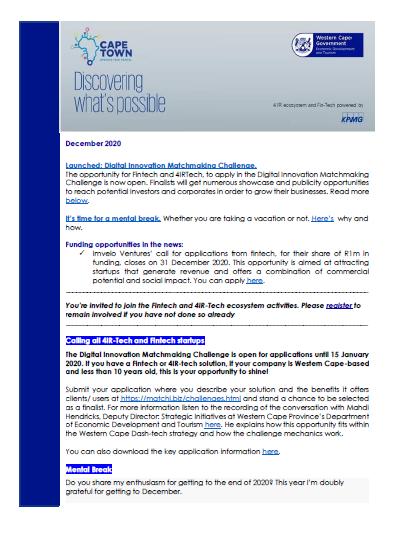 4IR_Fintech_newsletter_December2020