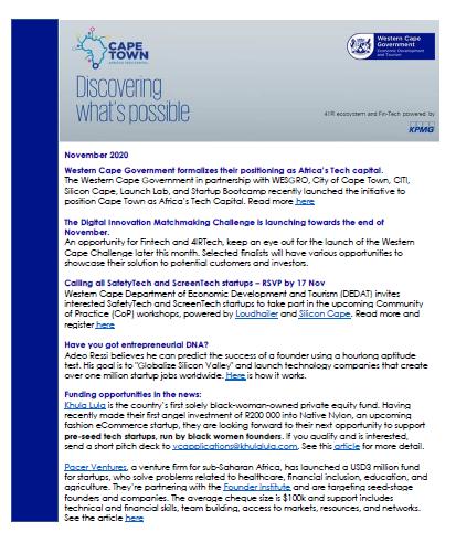 4IR_Fintech_newsletter_november2020
