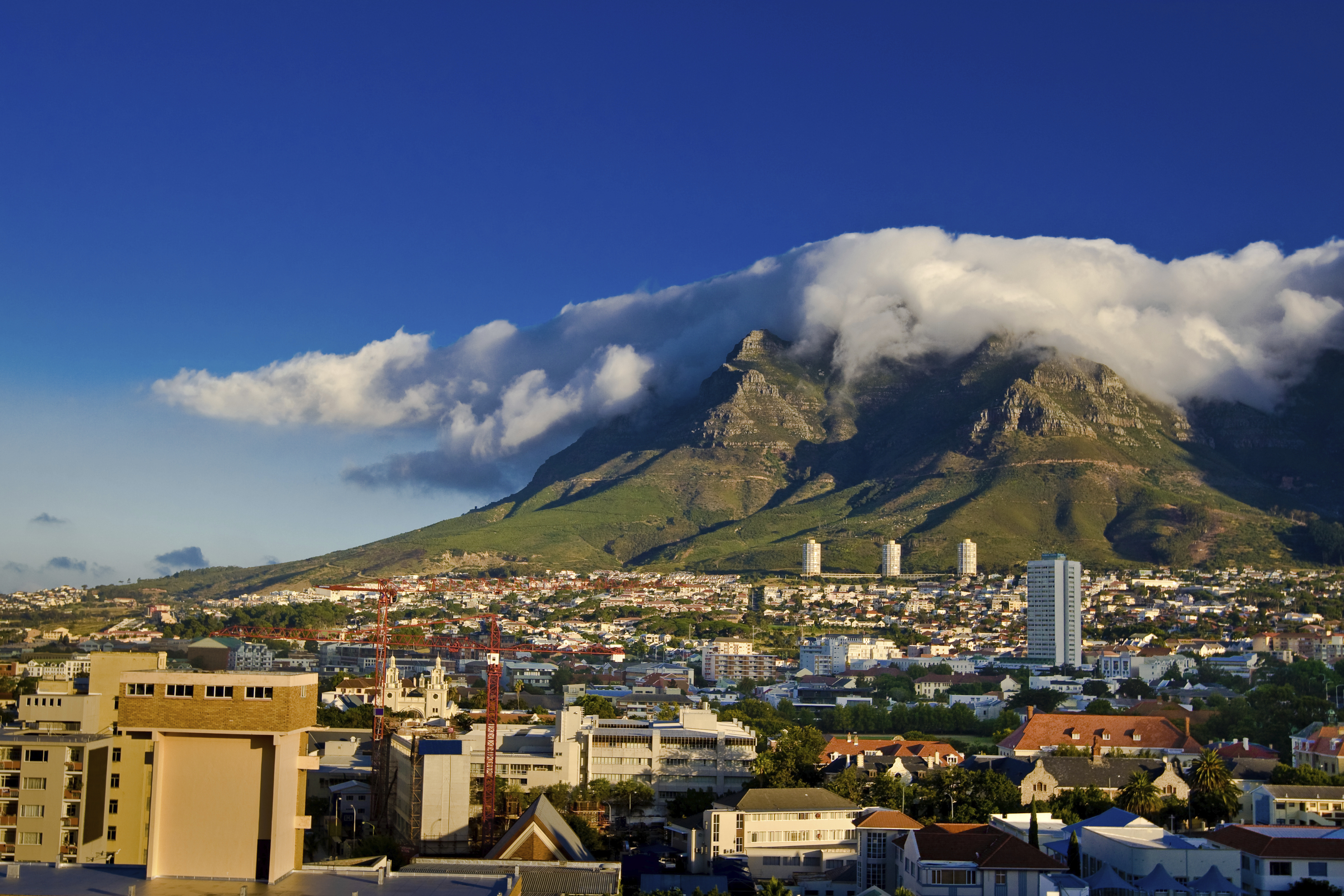 Clouds on Table Mountain