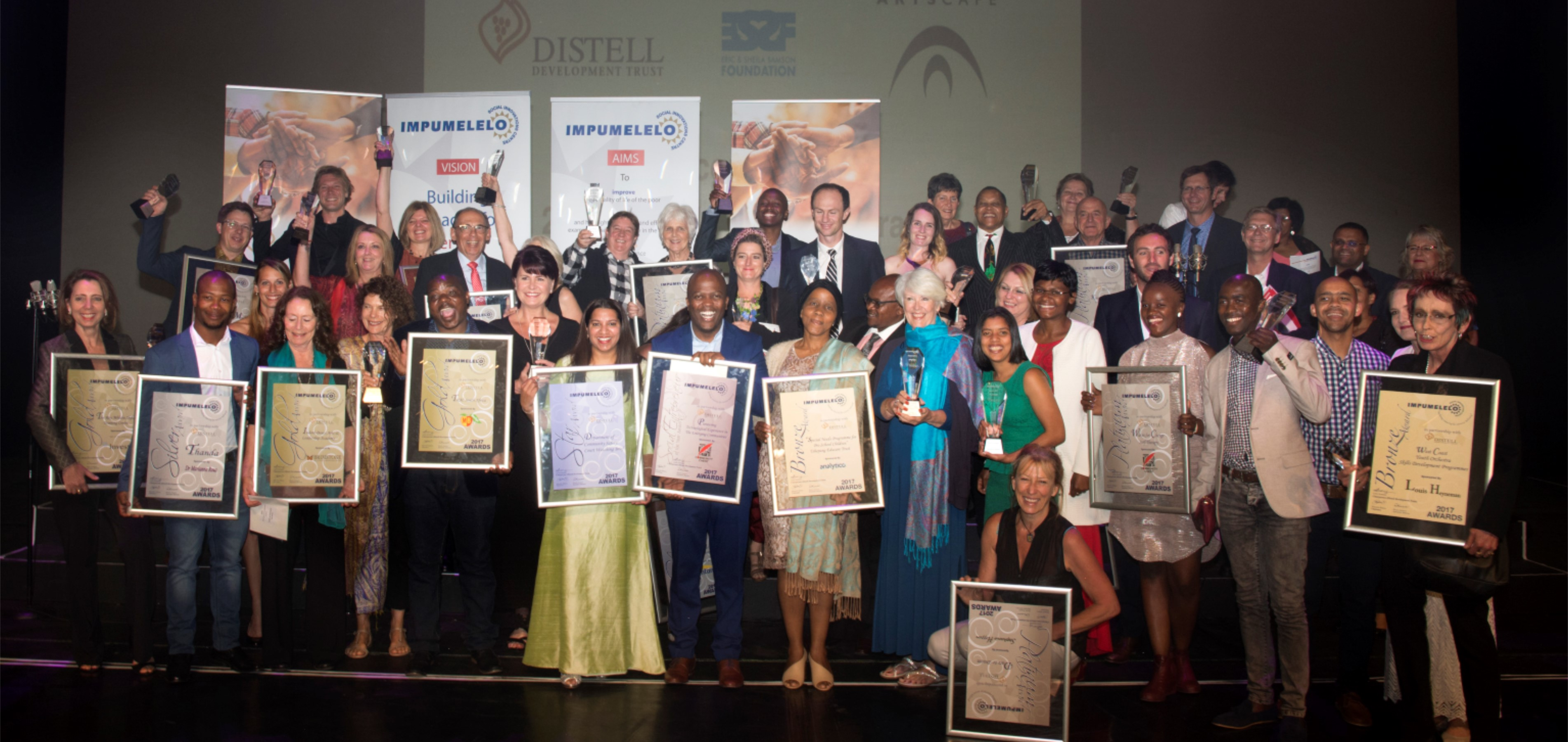 Advocate Zaiboonisa Khan accepted the Star Award at the Artscape Opera House