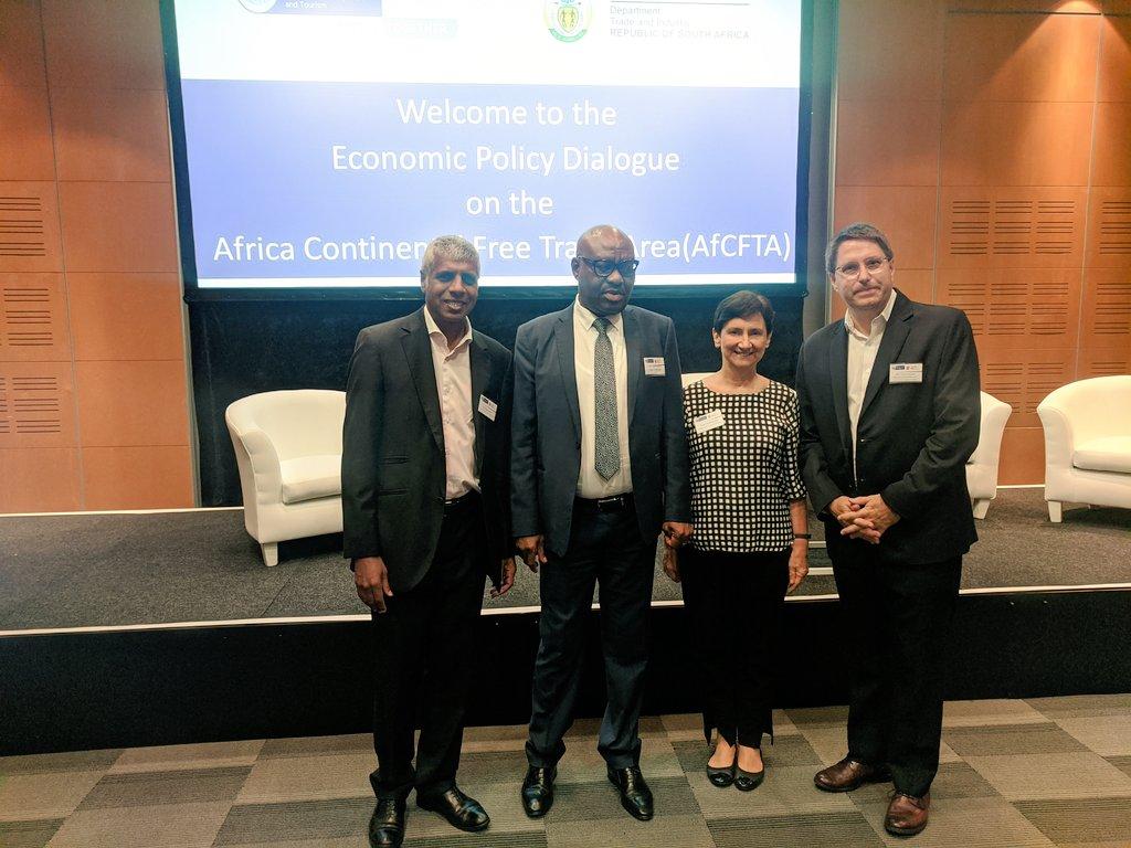 AfCFTA Economic Policy Dialogue Session