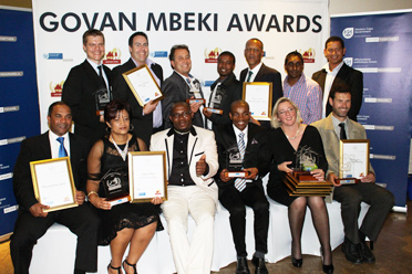 Govan Mbeki Awards Winners 2015