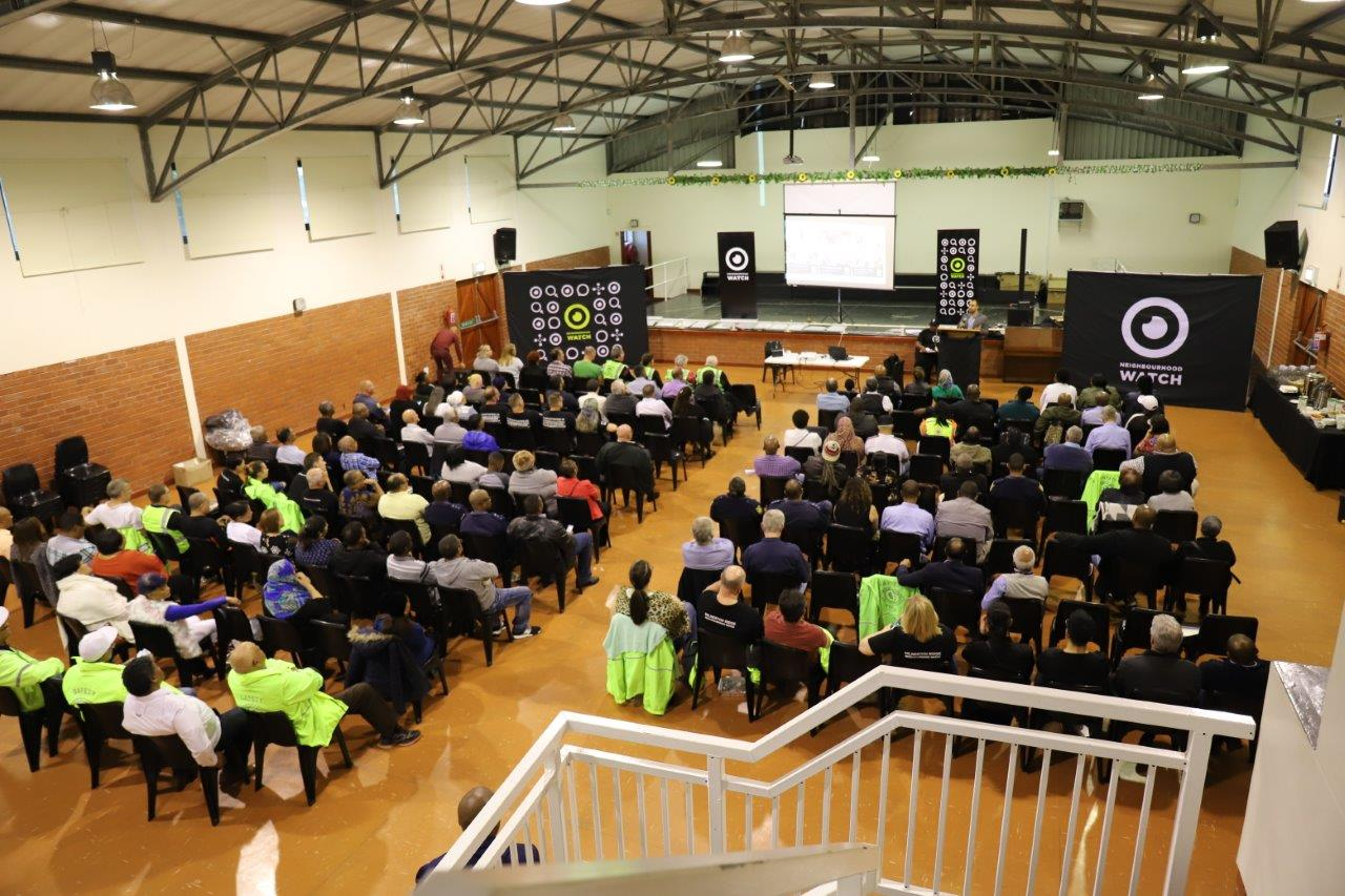 Attendees at the NHW Accreditation Ceremony in Goodwood