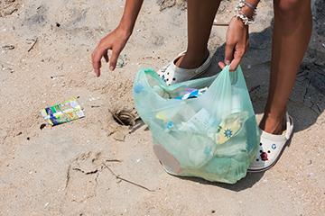 Beach clean-up 2017
