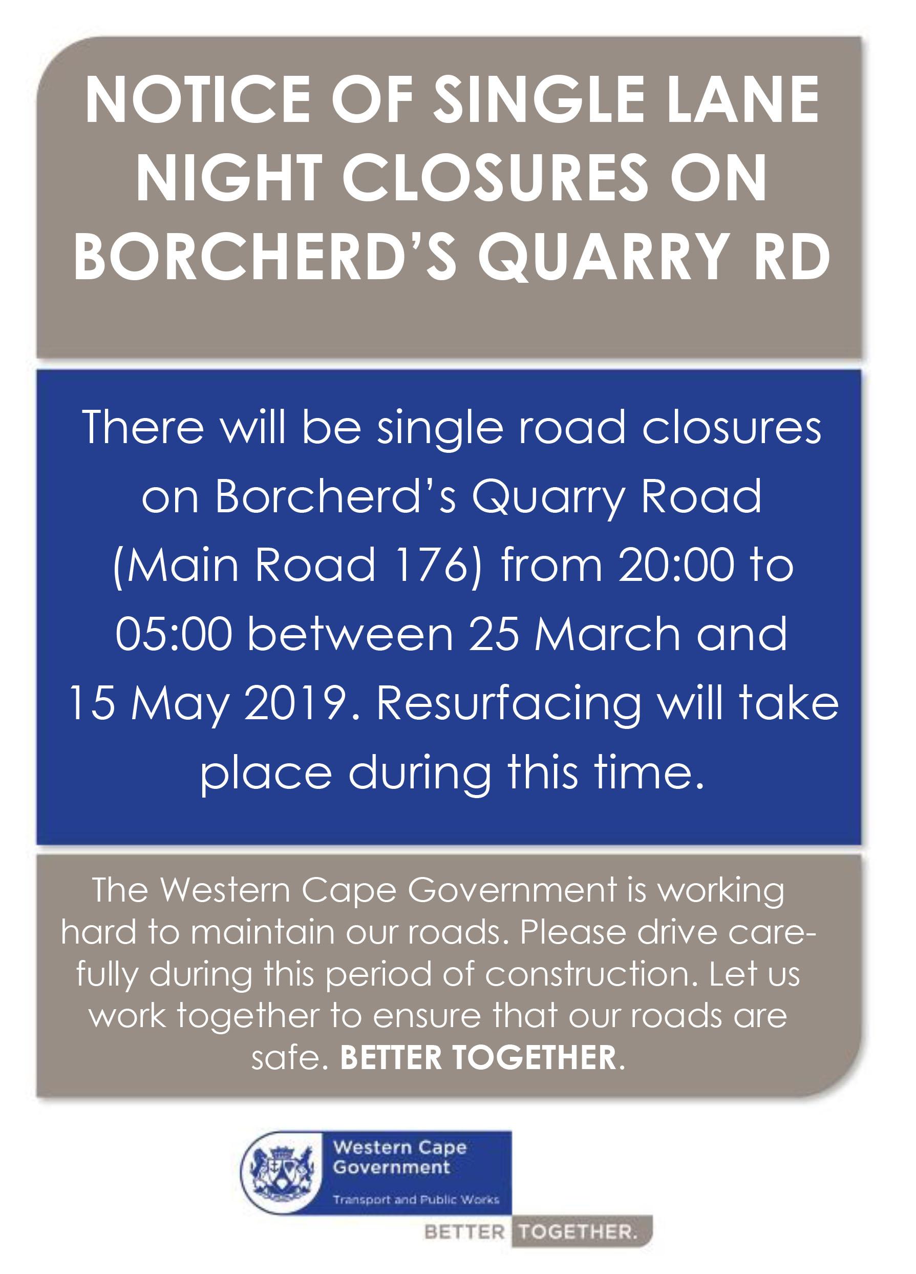 Borcherds Quarry