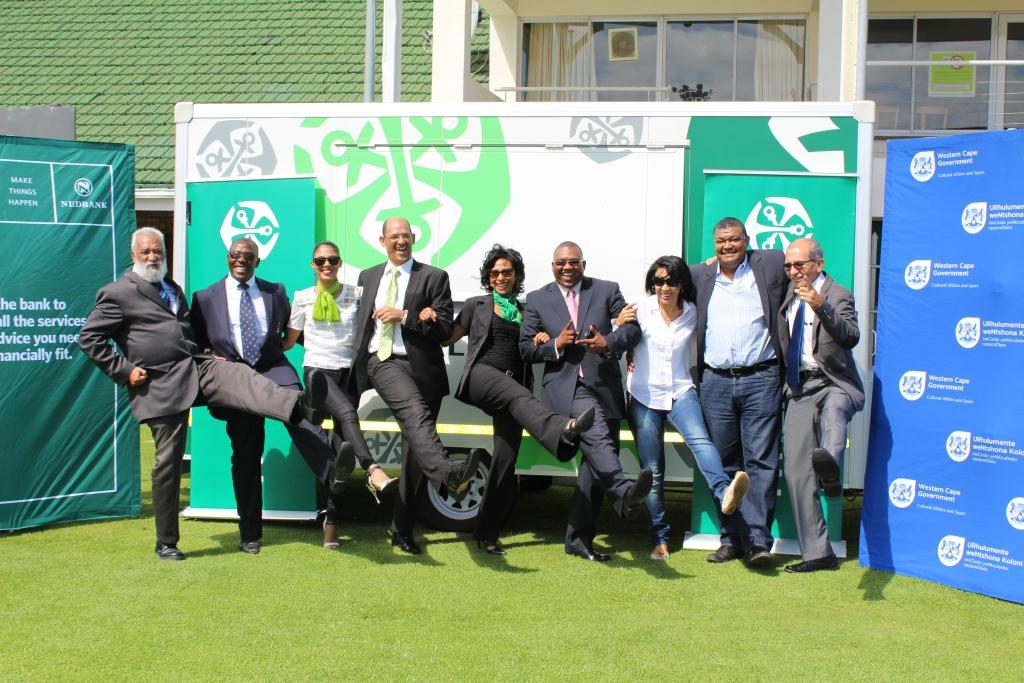 DCAS, partners and a few nominees at today's media launch at Old Mutual Sports Club