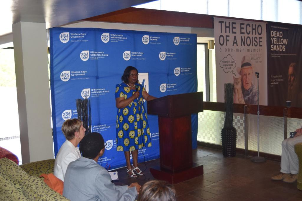 Director Jane Moleleki welcomed the audience