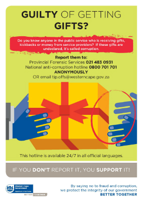 Department of the Premier Gift Policy