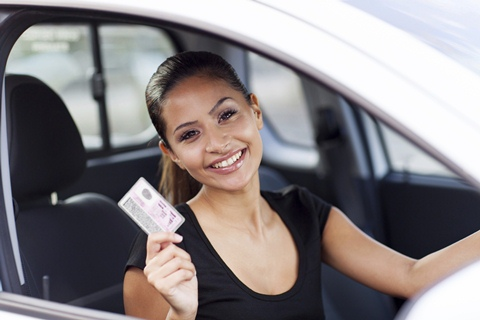 driving licence card