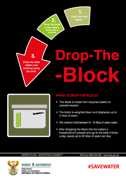 Drop the Block information