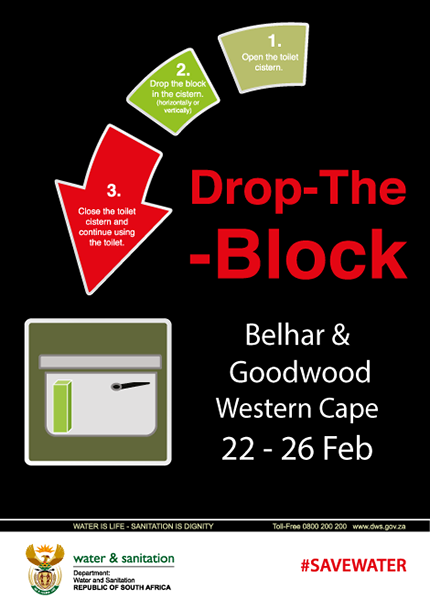 Drop the Block campaign