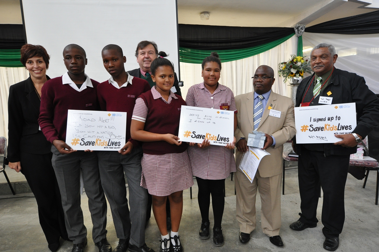 Learners at the Walk This Way Launch