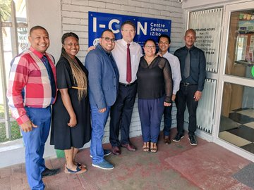 Minister Maynier visits I-CAN Elsies River Centre