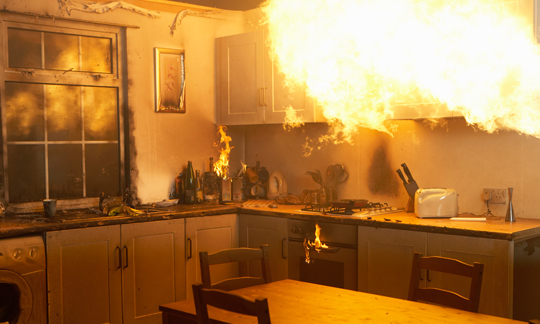 keep your home safe from fire