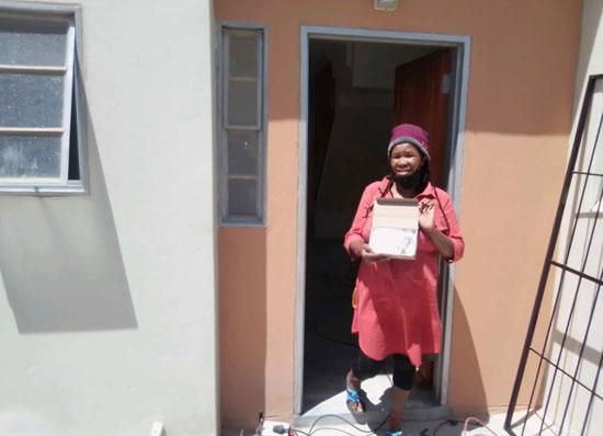 Ms Nolulamo Mdluluza – from Ward 114, Mfuleni