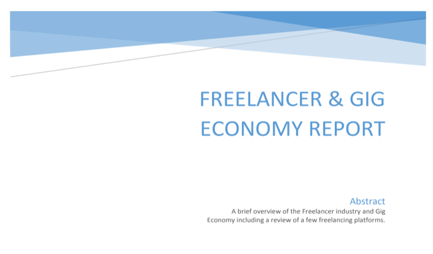 Freelancer & Gig Economy report