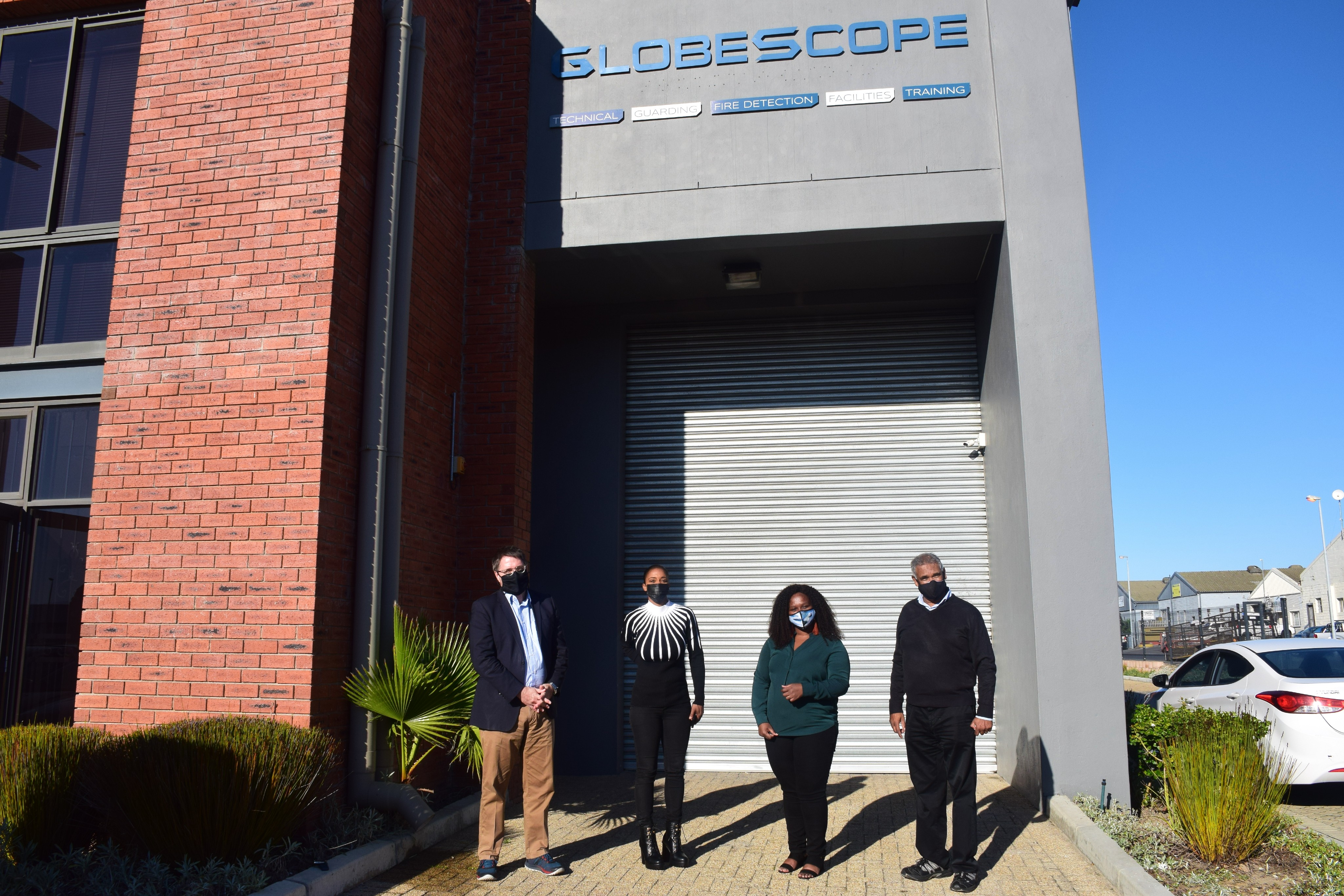 Minister David Maynier visits Globescope Security