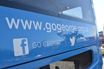 social media on bus