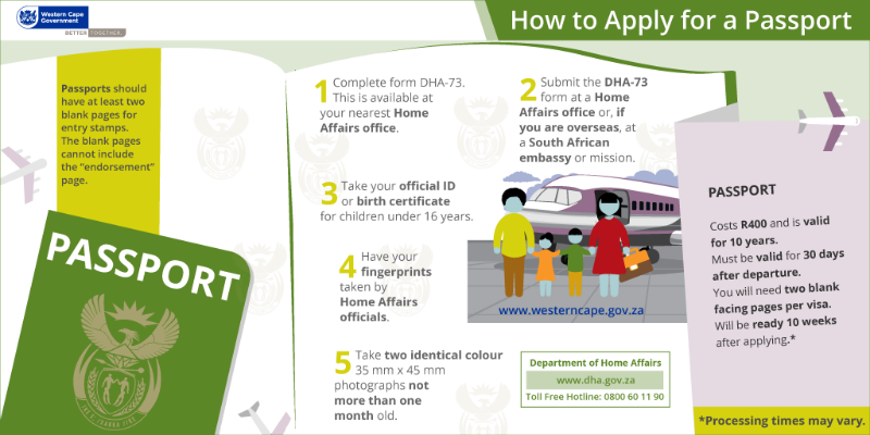 Applying for a Passport | Western Cape Government