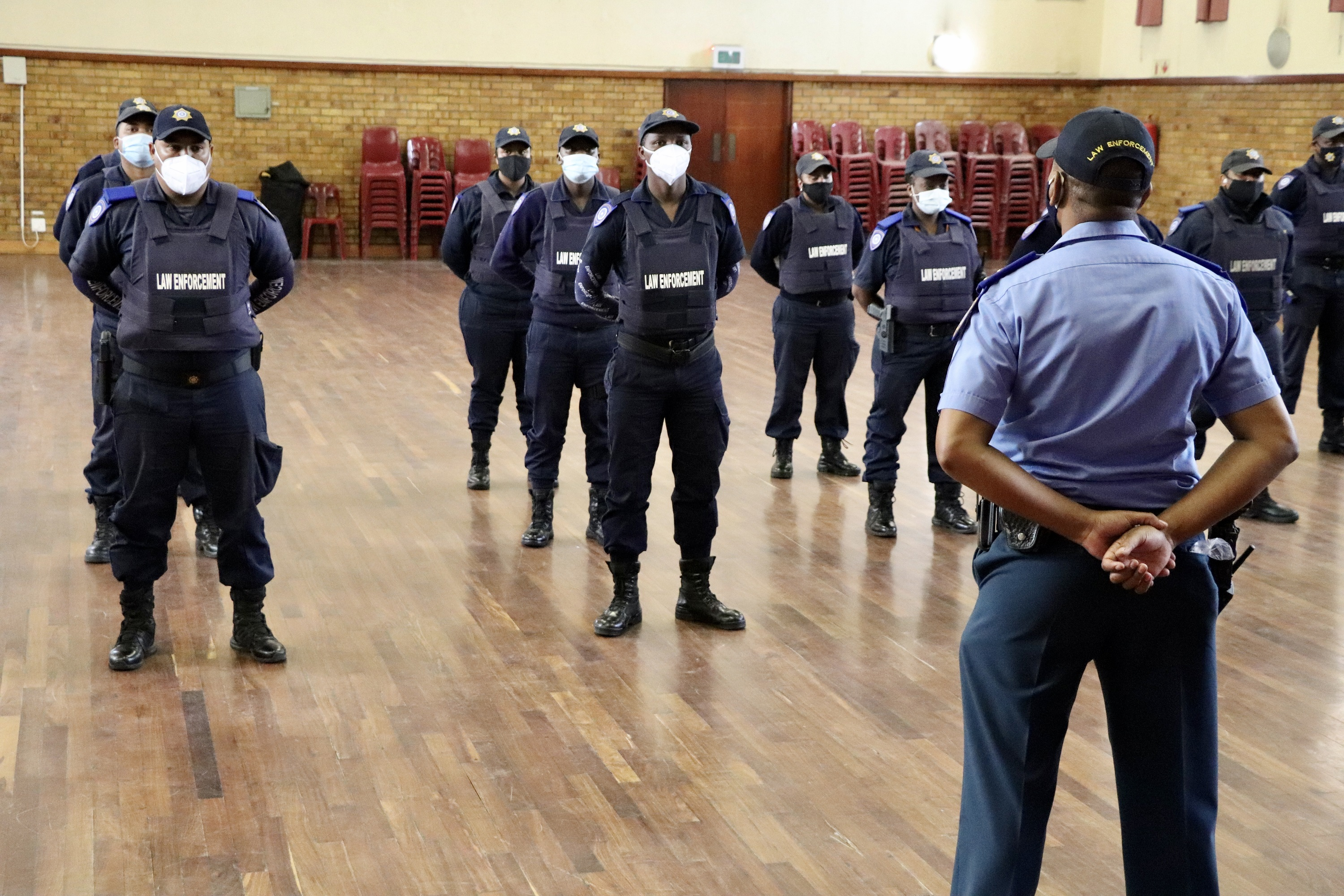 LEAP officers in Hanover Park