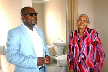83 Year Old Beneficiary Receives House in Delft 2