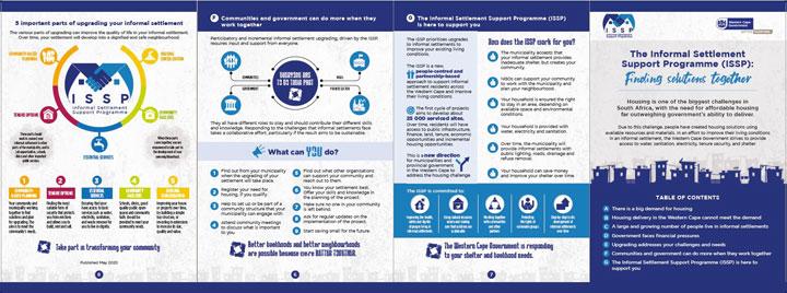 Informal Settlement Support Programme (ISSP) Leaflet