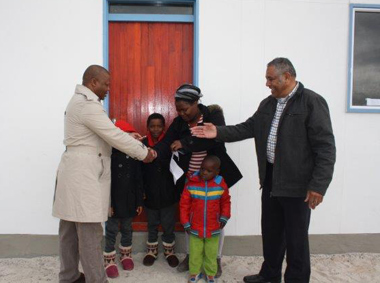 Beneficiaries Receive Homes In Struisbaai, Cape Agulhas