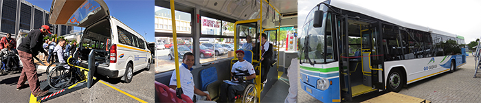 Disabled friendly transport