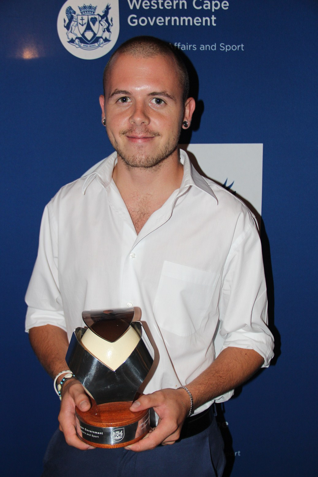 Burghen Siebert, designer of the 2014 Cultural Affairs Awards.