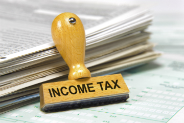 Paying income tax