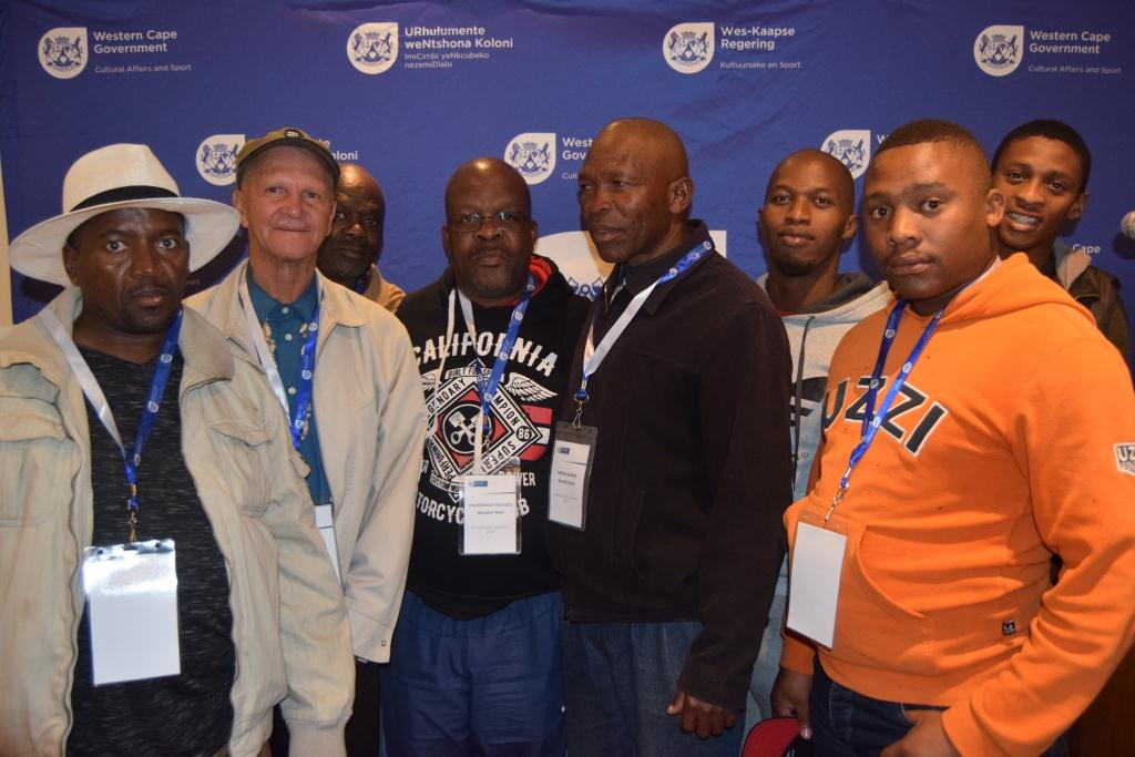 Initiation Forum representatives from Oudtshoorn and Beaufort West arrived early to participate in the Consultative Initiation Meeting in Cape Town