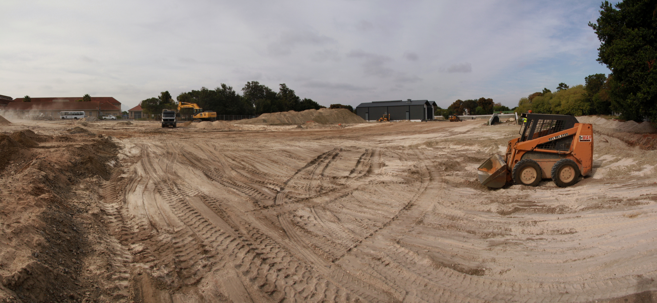 The K53 track is still in the construction phase.