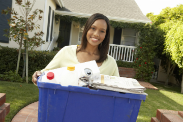 Know what you can recycle at home
