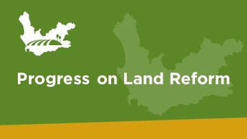 SOPA 2017 Land Reform