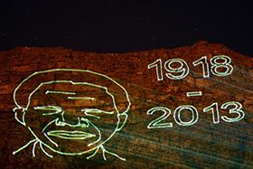 Mandela Laser Table Mountain