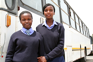 Learners with transport