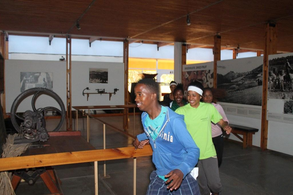 Learners enthusiastically participated in the Amazing Race at the Worcester Museum