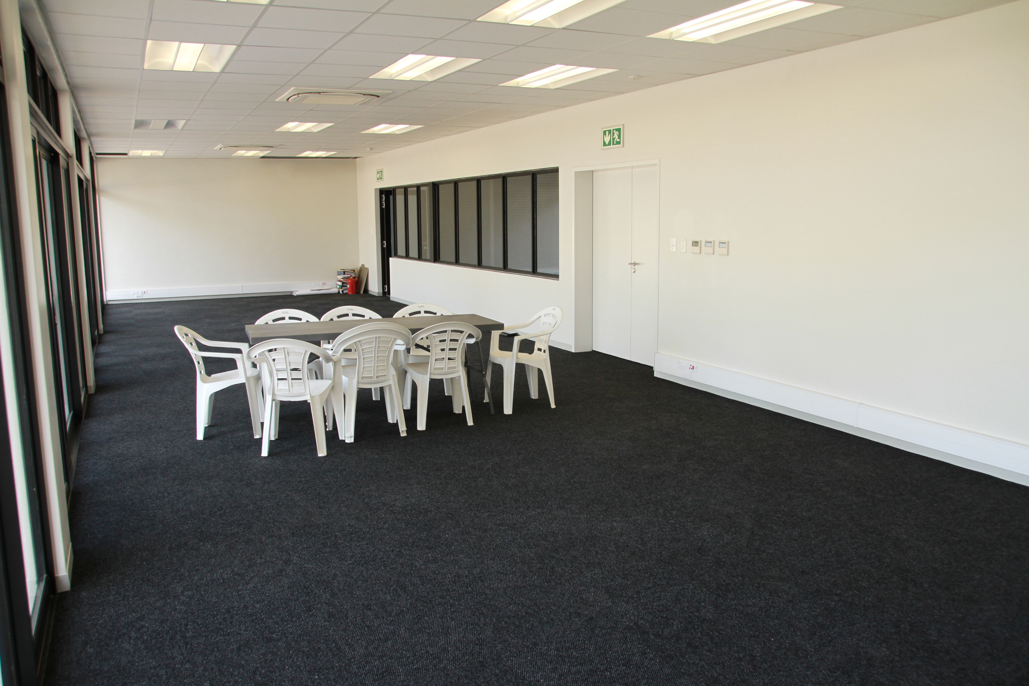 Lecture and display room area.