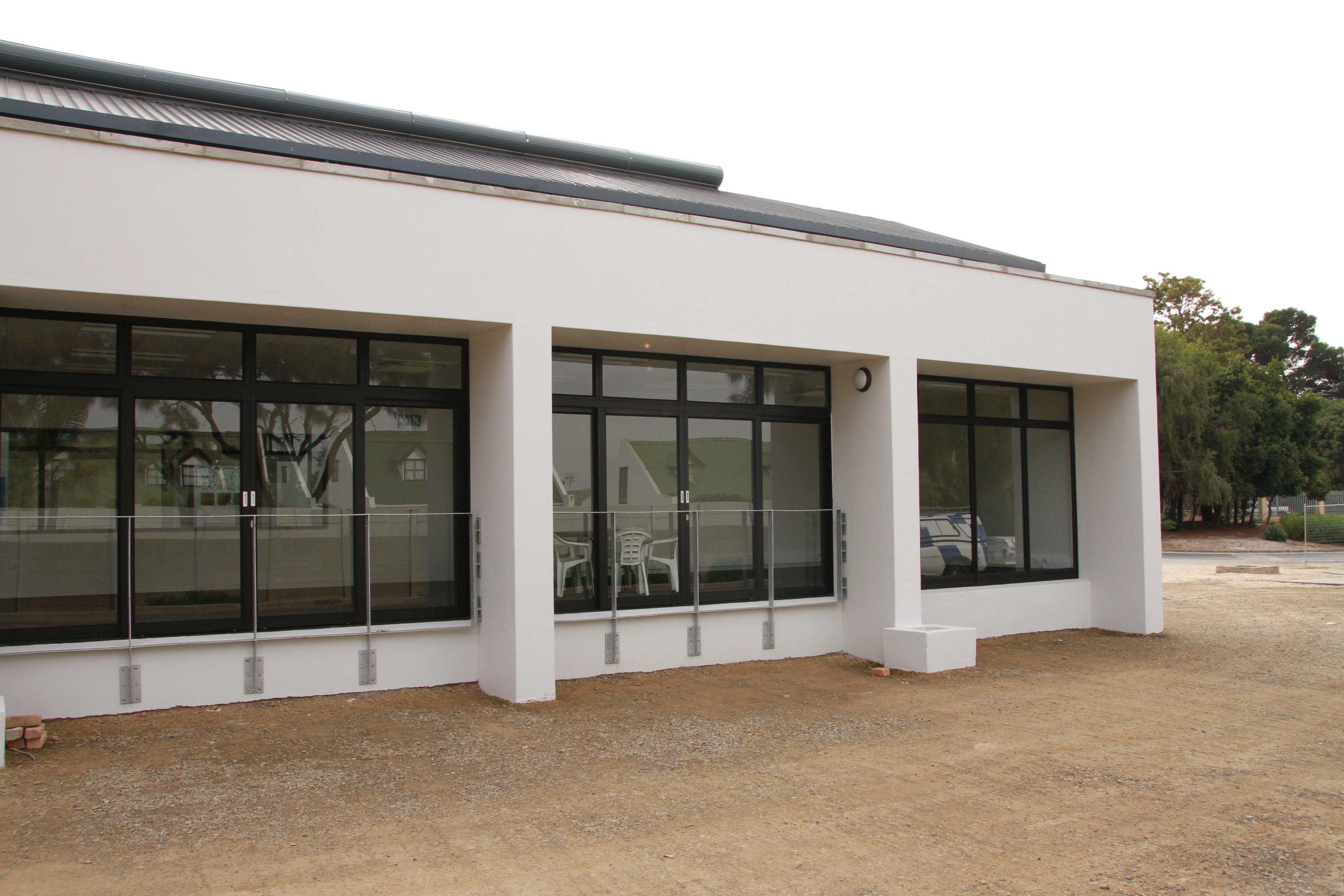 The new lecture and display rooms.