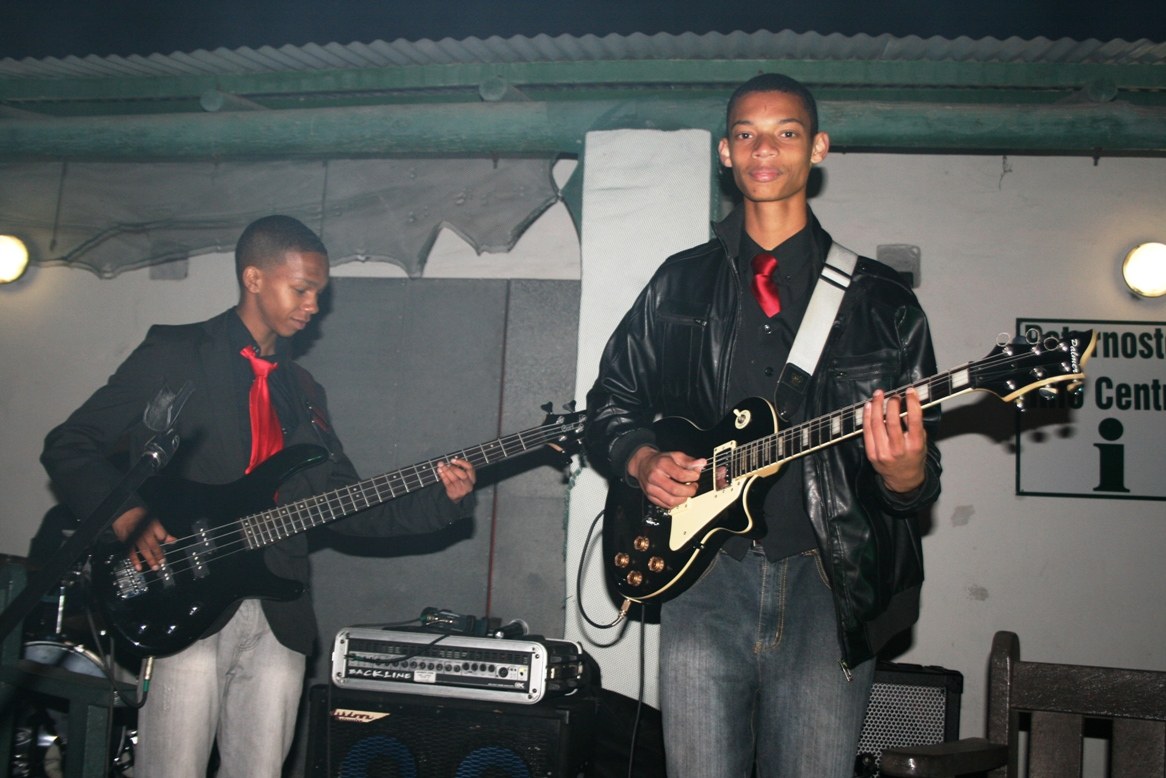 Leyton Manuels and Anwell Bergh of the African Skies jazz group also performed.