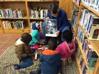 Reading activities in library