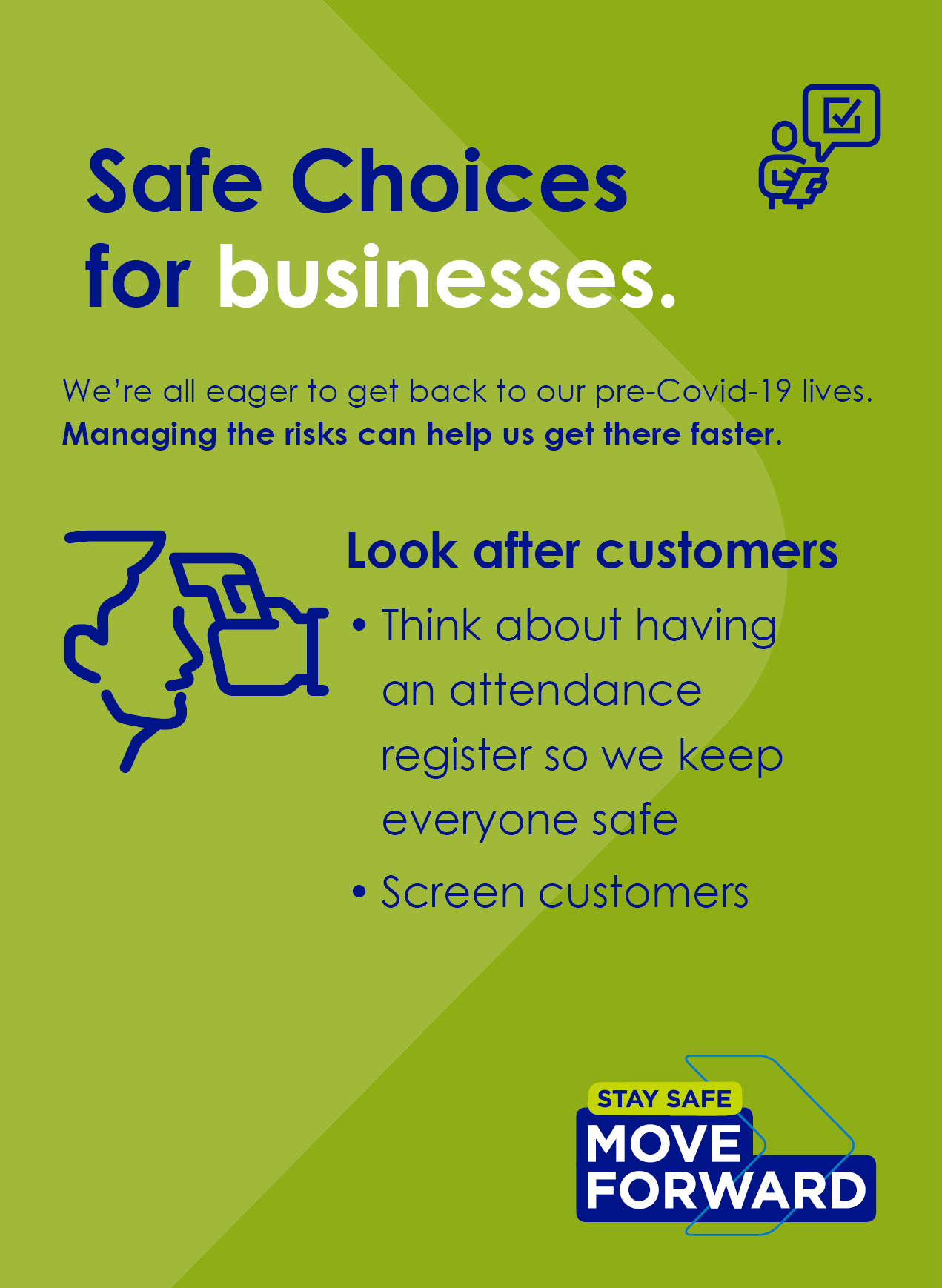 Look after Customers